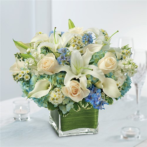 Local florist hot springs ar same day delivery lake hamilton 1 800 flowers blue centerpiece mightylinksfo