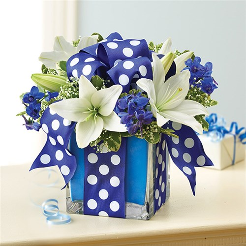 Local florist hot springs ar same day delivery lake hamilton 1 800 flowers all wrapped up blue mightylinksfo Images